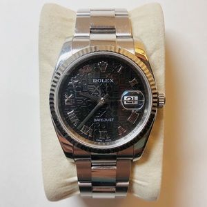 Rolex DateJust White Gold Watch 36mm